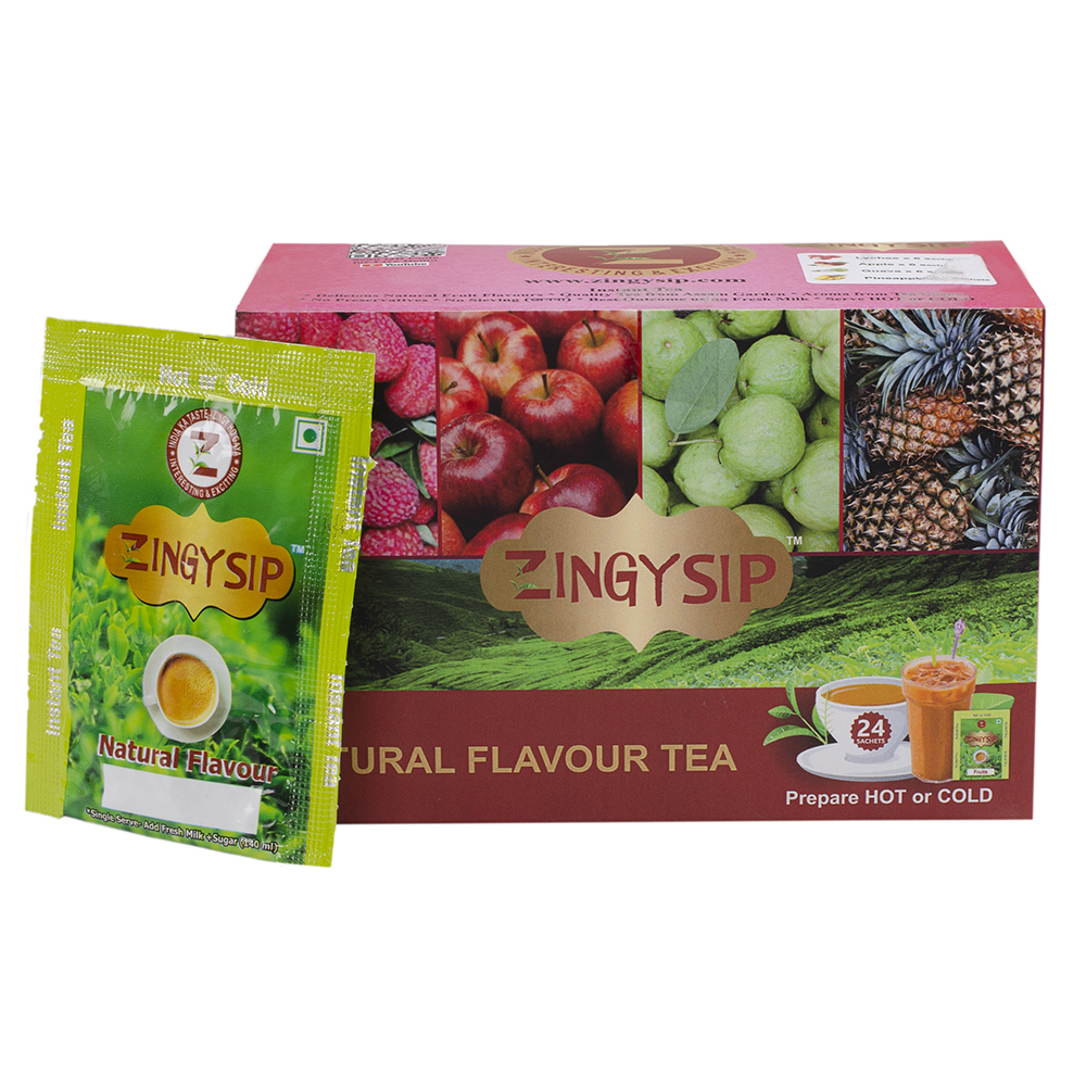 Tea Lychee Apple Guava Pineapple - Combo Pack