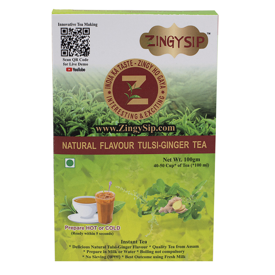 Tulsi Ginger Tea-100gm
